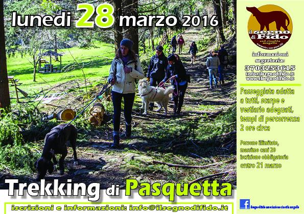 Dog Trekking di Pasquetta